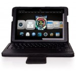 IVSO KeyBook Bluetooth Keyboard Case for Kindle Fire HDX 8.9″ Tablet – will only fit Kindle Fire HDX 8.9″ (Black) Reviews