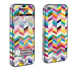 Apple iPhone 4 or 4s Full Body Vinyl Decal Protection Skin Multi Color