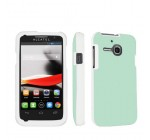 Alcatel One Touch Evolve 5020T White Full Protection Designer Case By SkinGuardz – Solid Teal Reviews