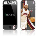 Skinit Miami Heat LeBron James #6 Action Shot Vinyl Skin for Apple iPhone 4 / 4S