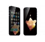 Kissing Apple iPhone 5 Protective Skin Decorative Sticker Decal, MAC1208-127