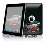 Apple Ipad (1st Generation) Vinyl Skin Case Cover Art Decal Sticker Protector Accessories 16gb, 32gb, 64gb Wifi or 3g – Red Car