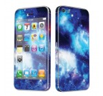 Apple iPhone 5 Full Body Vinyl Decal Protection Sticker Skin Blue Space By Skinguardz