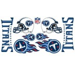 NFL Tennessee Titans Skinit Car Decals (Medium, 49- x 25-Inch)