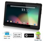 """Dragon Touch® 7"""" Dual Core Y88 Google Android 4.1 Tablet PC, Dual Camera, HD 1024×600, Google Play Pre-load, HDMI, 3D Game Supported (enhanced version of A13) [By TabletExpress]"""