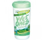Wet Ones Moist Wipe Vitamin E and Aloe, 40 per pack — 12 packs per case.