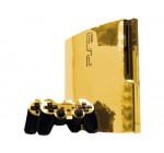 Sony PlayStation 3 Slim Skin (PS3 Slim) – NEW – GOLD CHROME MIRROR system skins faceplate decal mod Reviews