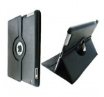 SANOXY 360 Degrees Rotating Stand (black) Leather Case for iPad 2 2nd generation