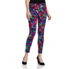 Joe's Jeans Women's Skinny Ankle Floral Cord Super Chic in Psychedelic