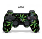 Designer Skin for Playstation 3 Remote Controller – Weeds Black Reviews