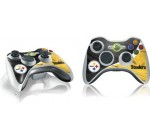 NFL® Pittsburgh Steelers Vinyl Skin for 1 Microsoft Xbox 360 Wireless Controller