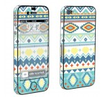 Apple iPhone 4 or 4s Full Body Vinyl Decal Sticker Skin – Teal Tribe By Skinguardz