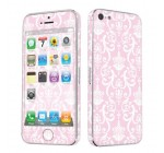 Apple iPhone 5 Full Body Vinyl Decal Protection Sticker Skin Pink Retro Reviews