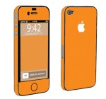 Apple iPhone 4 or 4s Full Body Vinyl Protection Decal Skin Hot Orange Reviews