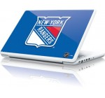 NHL® New York Rangers Solid Background Vinyl Laptop Skin for Apple MacBook 13-inch