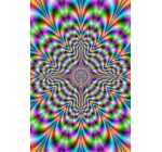 Psychedelic Pulse Optical Illusion Art Poster Print – 24×36 Collections Poster Print, 24×36 Reviews