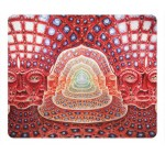 Abstract Music Tool Grey Psychedelic Music Bands Alex Grey Custom Mouse Pad Rectangle by Custom4you