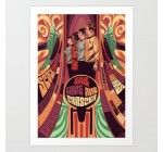 Society6 – Star Trek Psychedelic Art Print by Dave Collinson