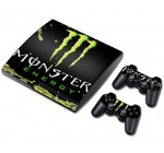 NuoYa001 New Skin Sticker Cover Decal For PS3 PlayStation 3 Slim + 2 Controllers #558