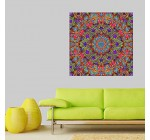 My Wonderful Walls Cautiously Spring Kaleidoscope Wall Art Decal by Lyle Hatch, Medium, Multicolored
