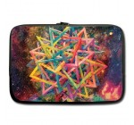 Psychedelic Art Fashion Design Custom Sleeve Case for Macbook Pro 15inch (Two Sides)