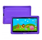 Contixo 9 Inch Quad Core Android 4.4 Kids Tablet, HD Display 1024×600, 1GB RAM, 8GB Storage, Dual Cameras, Wi-Fi, Bluetooth 4.0, Kids Place App & Google Play Store Pre-installed, 2015 May Edition, Kid-Proof Case (Purple)