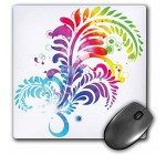 3dRose LLC 8 x 8 x 0.25 Inches A Large Psychedelic Flourish Mouse Pad (mp_152341_1) Reviews