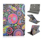 Psychedelic Paisley Design – Universal 8″ inch Tablet Case Cover Adjustable Stand Fits – Trio Pro 8″ , Trio Quad Core 7.85″, Trio Stealth G2 8″