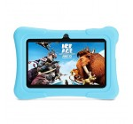 iClever 7 Inches Quad Core Android Tablet with Wi-Fi, Camera and Games, HD Kids Edition, Zoodles Pre-Installed, Blue