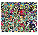 Colorful Psychedelic Art Abstract Rectangle Mouse Pad Mouse Mat Reviews