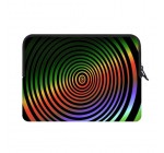 Yestore Superior Neoprene Trippy Psychedelic Sleeve Case for All Laptop 15.4″ 15.6″