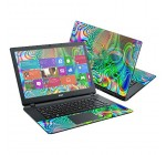Mightyskins Protective Vinyl Skin Decal Cover for Acer Aspire E15 ES1-511 15.6″ Cover wrap sticker skins Psychedelic
