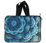 Best Stylish Mandala Trippy Psychedelic abstract painting 13 Inch Handle Laptop/Notebook Computer Sleeve Bag Case (Twin Sides) for Macbook, Macbook Air/Pro 13″