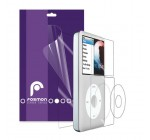 Fosmon Clear Screen Protector Shield 2 Front + 1 Back for Apple iPod Classic