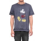 Disney Mens Classic Mickey Mouse Distressed Retro Vintage Burnout T-Shirt Reviews