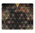 Abstract Psychedelic Geometry Fresh New Rectangle Mouse Pad,Gaming Mouse Pad by Lilyshouse