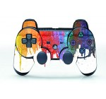 UUShop Oil Painting Vinyl Skin Decal Cover for Playstation 3 Controller wrap sticker ps3 controller skins
