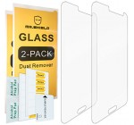 [2-PACK]-Mr Shield For Samsung Galaxy J3 / Galaxy J3 (2016) [Tempered Glass] Screen Protector [0.3mm Ultra Thin 9H Hardness 2.5D Round Edge] with Lifetime Replacement Warranty