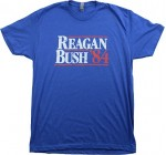Reagan Bush '84 | Vintage Style Conservative Republican GOP Unisex T-shirt Reviews