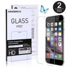 (2 Pack) iPhone 6 Plus Screen Protector, [0.3mm - Tempered Glass] [3D Touch Compatible ] [ High Definition ] for iPhone 6 Plus and iPhone 6s Plus 5.5 INCH