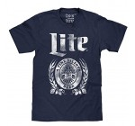 Vintage Miller Lite Navy T-Shirt Reviews