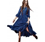 Women Summer Casual Bohemian Long Dress