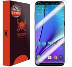 Galaxy S8 Plus Screen Protector[2-Pack][Case Friendly][Updated Design],Skinomi TechSkin Full Coverage[TPU Not Glass]Screen Protector for Samsung Galaxy S8 Plus[HD][Anti-Bubble][Wet Application] Reviews