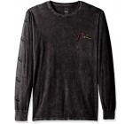 Rusty Men's Splat Tv Long Sleeve Tee