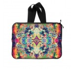 Psychedelic Trippy Colorful Art Water Resistant Neoprene 15″ Inch (Twin Sides) Laptop / MacBook Air / Macbook Pro / Netbooks / Notebooks Sleeves