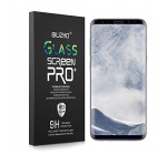 Galaxy S8 Plus Screen Protector, Full Coverage Case Friendly Scratch Resistant HD Clear Curved Tempered Glass for Samsung Galaxy S8 Plus 6.2