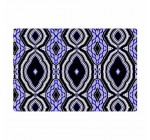 KESS InHouse Dawid Roc Inspired by Psychedelic Art 3″ Purple Abstract Woven Area Rug, 2′ x 3′