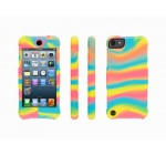 Griffin Neon Swirl Survivor Skin for iPod touch (5th/ 6th gen.) – 6-foot drop protection in a silicone skin.