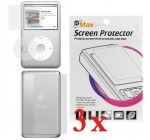 3 LCD Screen / Wheel / Back Protector for Apple iPod Classic Reviews