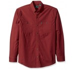 G.H. Bass & Co. Men's Hudson Peak Twill Long Sleeve Shirt